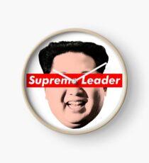 Supreme Leader Un - Kim Jong Un Parody T-Shirt Clock