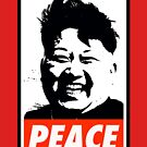 Kim Jong Un PEACE by Thelittlelord