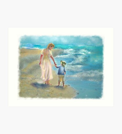 ChdGrpMothersDay    Mother and Child Art Print