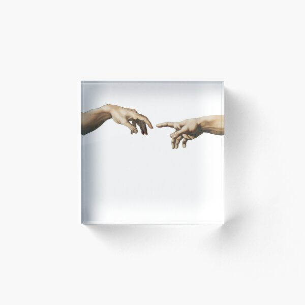 Creation of Adam Acrylic Block