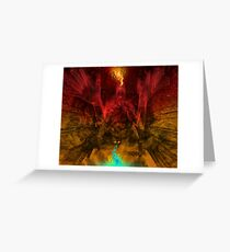 Parallel Moralities Greeting Card