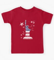 Freiheitsstatue - Liberty, New York, USA Kids Tee