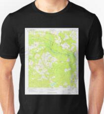 USGS TOPO Map Georgia GA Colemans Lake 245364 1973 24000 T-Shirt