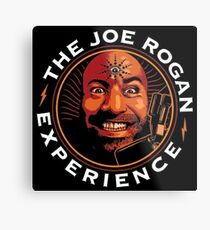 Joe Rogan Experience - UK Delivery Metal Print