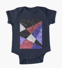 Marble Geometric Background G435 One Piece - Short Sleeve