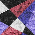 Marble Geometric Background G435 by MEDUSA GraphicART
