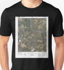 USGS TOPO Map Georgia GA Colemans Lake 20110311 TM T-Shirt