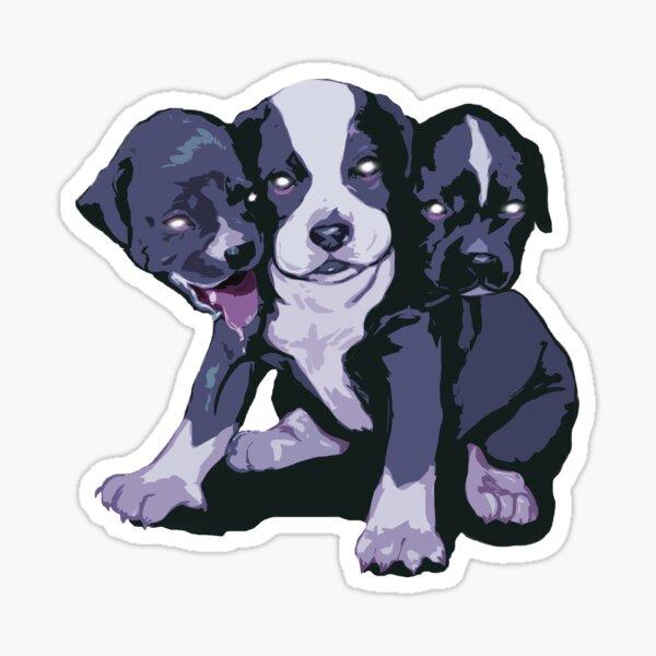 Cerberull Pup(s) Sticker