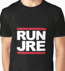 Joe Rogan Run JRE - UK Delivery Graphic T-Shirt
