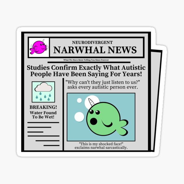 News of the Obvious Sticker