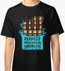 Pianist Powered By Chocolate Classic T-Shirt