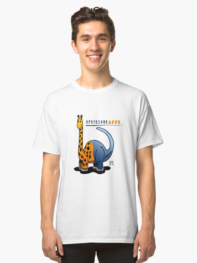 Alternate view of APATOSAURAFFE™ Classic T-Shirt