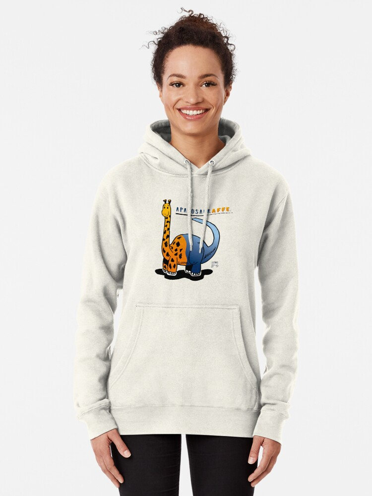 Alternate view of APATOSAURAFFE™ Pullover Hoodie