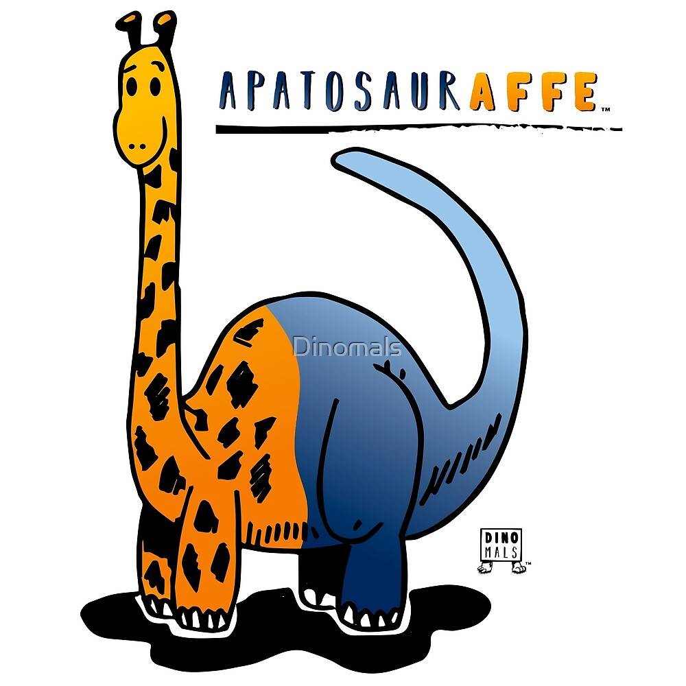APATOSAURAFFE™ by Dinomals