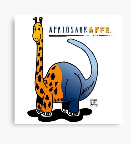 APATOSAURAFFE™ Metal Print