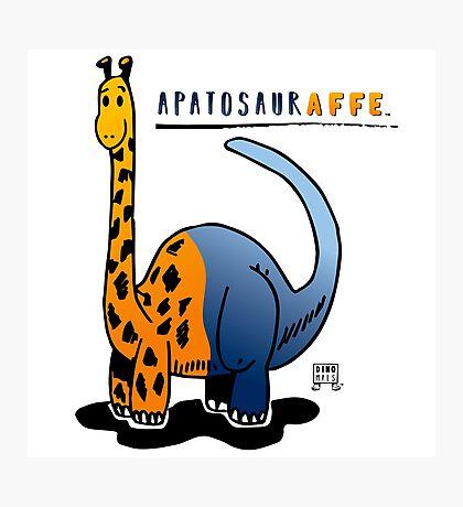 APATOSAURAFFE™ Photographic Print