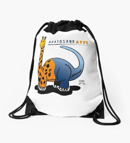 APATOSAURAFFE™ Drawstring Bag
