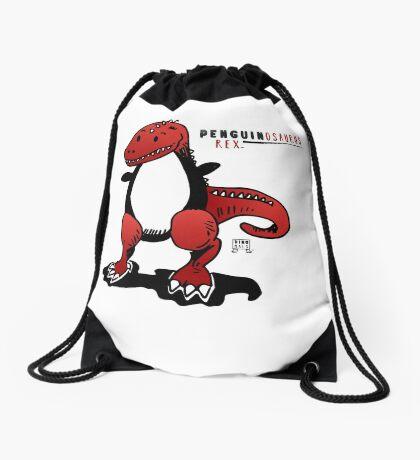 PENGUINOSAURUS REX™ Drawstring Bag
