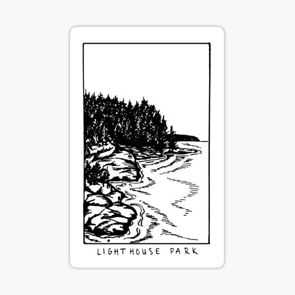 Lighthouse Park Sticker