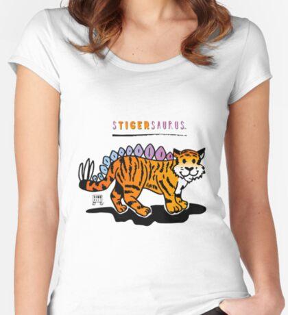 STIGERSAURUS™ Fitted Scoop T-Shirt