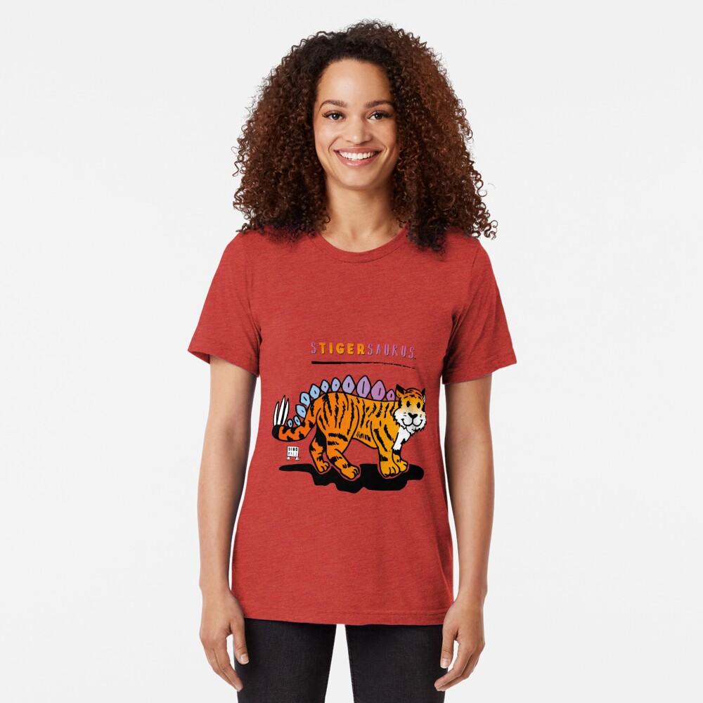 STIGERSAURUS™ Tri-blend T-Shirt