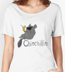 Chin Chillin Women's Relaxed Fit T-Shirt