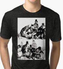Gustave Dore or Doré  Costumbrist Woks 013 Tri-blend T-Shirt