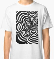 Tunnels in Black and White Classic T-Shirt