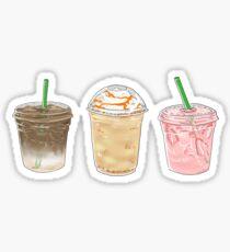 Summer Caffeine Sticker