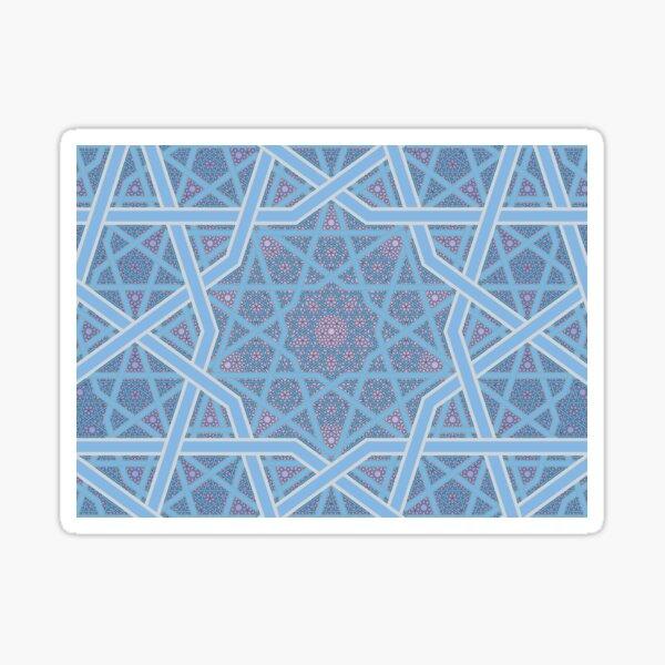 Four Layer Modern King Pattern Sticker
