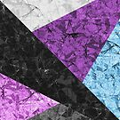 Marble Geometric Background G437 by MEDUSA GraphicART