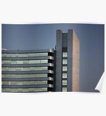 Concrete & Glass Poster