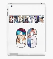 Eunhyuk jersey number 86 with pictures iPad Case/Skin