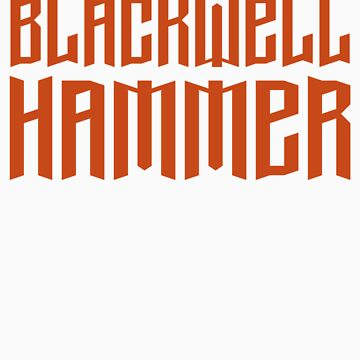 The Blackwell Hammer Red2 by BBlackwell