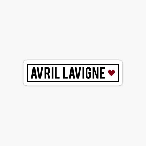 Avril Lavigne Sticker