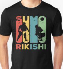 Sumo Rikishi Vintage Retro T-Shirt