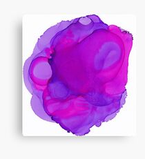 Pink & Purple Mist Canvas Print