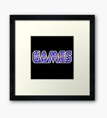 Games Framed Print
