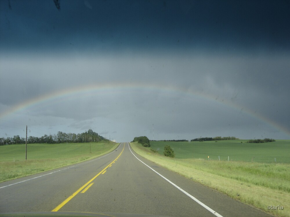The Road Under the Rainbow by starla
