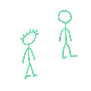 """""""I Promise I'm Clean..."""" Stick Figure Green by greghillmusic"""