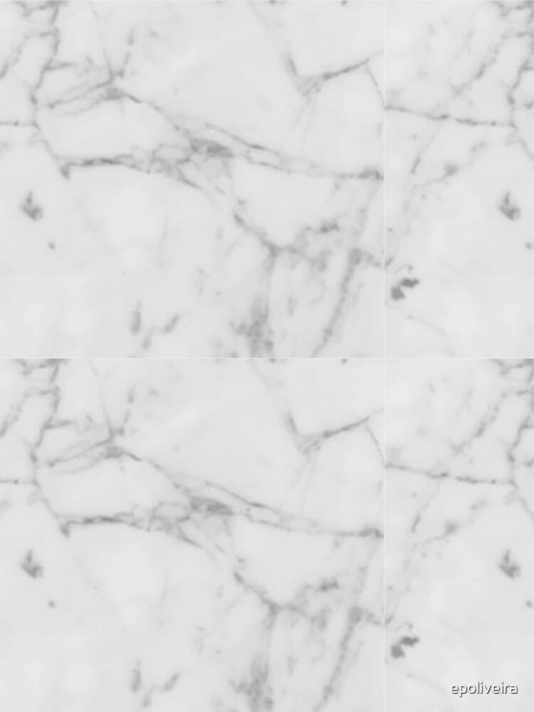 White Marble Stone Texture Pattern by epoliveira
