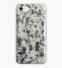 Untitled (acrylic on paper) iPhone Case/Skin