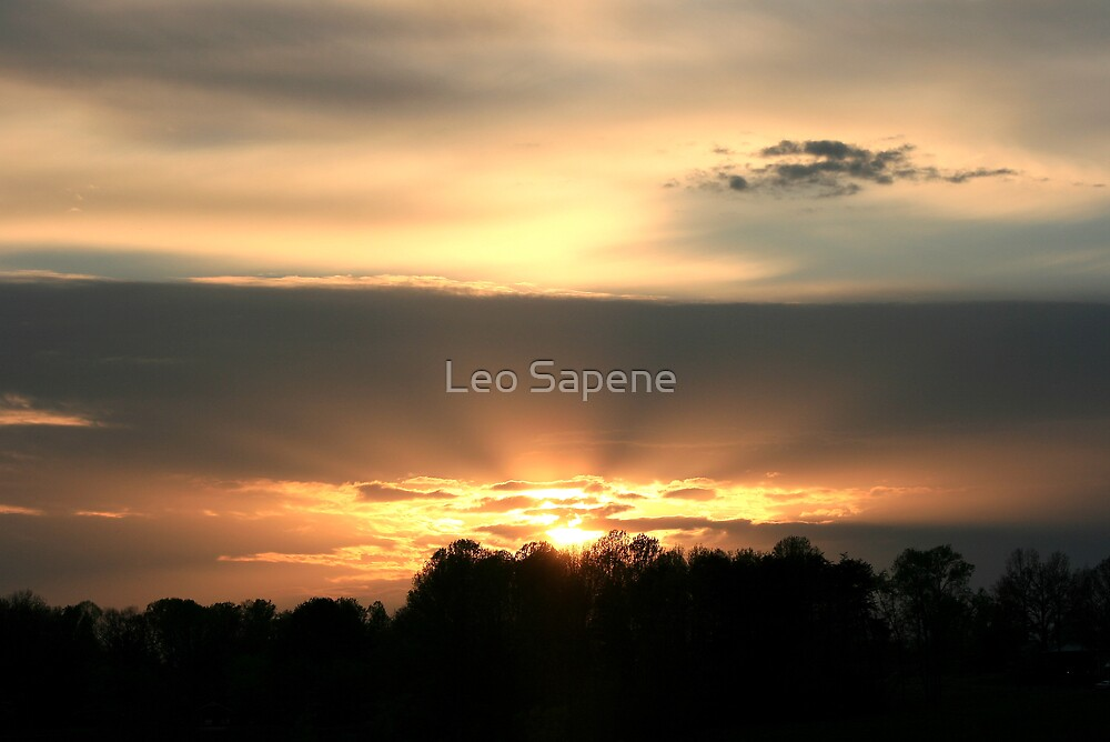 Sunset 2 by Leo Sapene