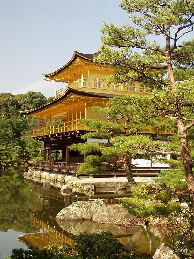 Golden Pavilion, Kyoto, Japan. by johnrf
