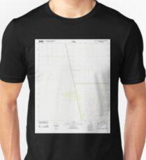 USGS TOPO Map Florida FL East of Little Cypress Swamp 20120718 TM Unisex T-Shirt