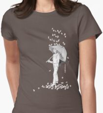 Raindrops Women's Fitted T-Shirt