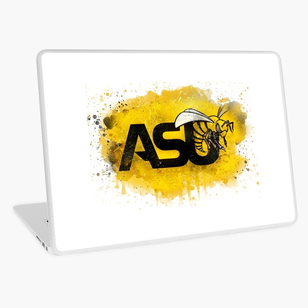 Alabama State University Rustic Watercolor Logo Laptop Skin