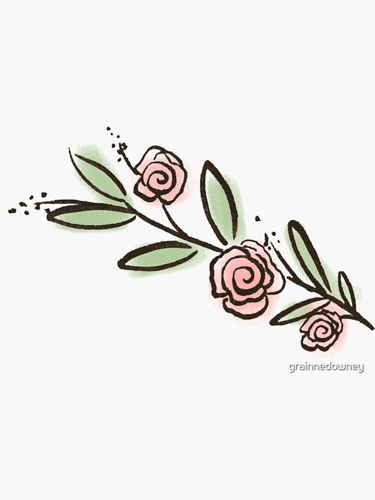 Roses Sticker by grainnedowney