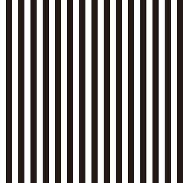 black white vertical stripe by Yanwun