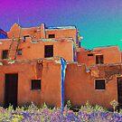 Taos Pueblo 2 (interpretation) by culturequest